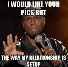 Instagram Funny Memes - how men and women act on facebook and instagram funny meme