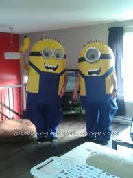 Despicable Halloween Costumes Toddler 25 Homemade Minion Costumes Ideas Diy Minion