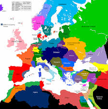 World War 2 In Europe And North Africa Map by 1678 1708 Europe 1430 Map Game Alternative History Fandom