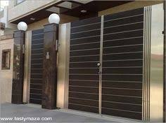 Nice design of main gate of home made of iron