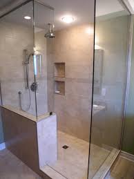 bathroom brief learning about remodel ideas walk how design doorless walk shower tile wall small designs bathroom ideas
