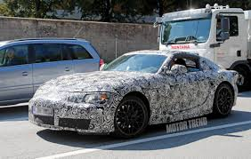 supra engine spied toyota supra caught testing for the first time motor trend