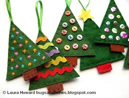 felt ornaments dyi felt ornaments christmas tree crafts kids