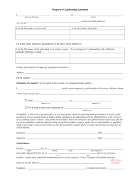 Guardianship Power Of Attorney Forms by 4 Examples Of Temporary Guardianship Forms And When To Use Them