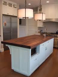 white kitchen butcher block island u2014 onixmedia kitchen design