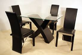 Modern Glass Kitchen Tables by Rectangular Kitchen Table Hillsdale Charleston Rectangle Wood