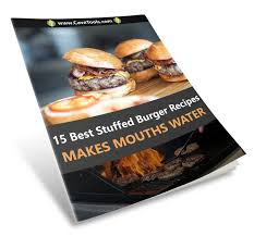 book free download 15 best stuffed burgers recipe book free download cave tools
