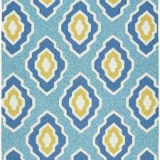 Yellow And White Outdoor Rug Yellow And Gray Quatrefoil Outdoor Rug