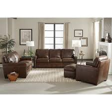 Leather Sofas  Sectionals Costco - Hunter green leather sofa