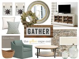 joanna gaines fabric the yellow cape cod joanna gaines inspired living room and dining