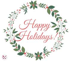 happy holidays central wellness