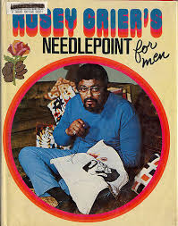 rosey grier s needlepoint for flickr