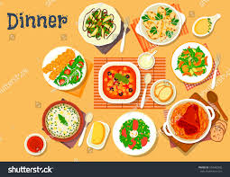 cuisine dishes german cuisine dishes icon tomato เวกเตอร สต อก 554382925