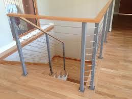 Interior Wood Railing Apex Railing Solutions Cable Railings