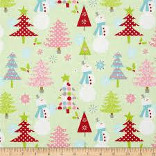 Home Decor Fabric Online Uk Riley Blake Christmas Basics Main Lime Discount Designer Fabric