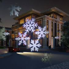 Led Snowflake Lights Outdoor by Outdoor Lighting Waterproof Ip65 White Led Snowflakes Light