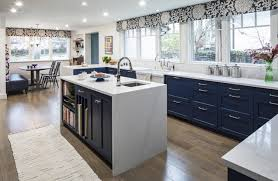 kitchen cabinets with light floor how to style blue kitchen cabinets in 2020 on roomhints