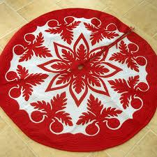 hawaiian pattern skirt hawaiian quilt christmas tree skirt hawaiian quilts tree skirts