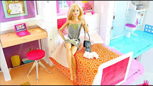 barbie house summer morning routine going to the beach hello