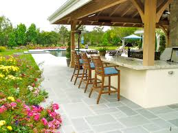 decorating granite countertop plus bar stool for outdoor