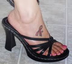 cool ink tattoos designs cancer ribbon tattoos designs