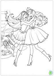 barbie princess popstar coloring eclectic