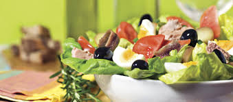 cuisine haute haute cuisine salad nicoise business jet traveler