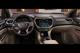 gmc terrain 2017 white 2017 gmc acadia shrinks loses weight at detroit