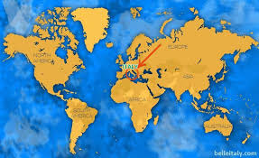 where is on the map where is italy located find out facts about italy