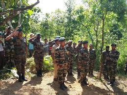 list of assam rifles last respect paid to brave of manipur nelive