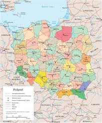 Europe Map Political by Political Map Of Poland Europe