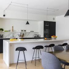 cuisine avec bar cuisine avec bar idées déco et conseils côté maison