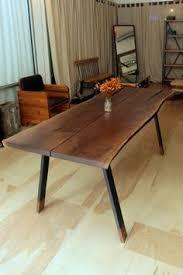 Walnut Slab Table by We Finished It American Black Walnut Slab Table 11 U0027 X 4 U0027 X 30