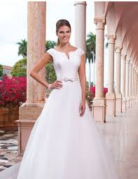 sweetheart gowns sweetheart gowns sabrina notch neckline with cap sleeves gown