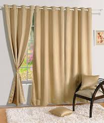 swayam curtain concept premium blackout eyelit faux silk door