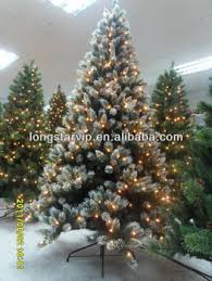 flocked snowing tree leave and branch for artificial snow