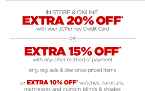 Jcpenney Blind Sale Jc Penney Double Bonus Free Shipping On 69 Or More Our Big
