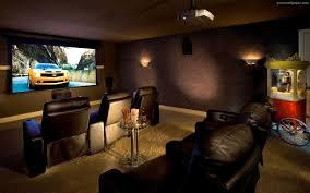 Dark Brown Sofa by Interior Elegant Brown Home Theater Room Feature Cozy Dark Brown
