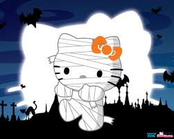 hello kitty halloween wallpapers desktop wallpaperpulse
