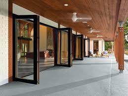 Bi Folding Glass Doors Exterior Glass Folding Doors Exterior Contemporary Folding Doors For Modern