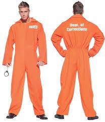 prison jumpsuit costume convict prison jumpsuit orange o s a masquerade costume