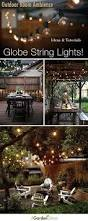 Pinterest Outdoor Rooms - outdoor room ambience globe string lights globe string lights