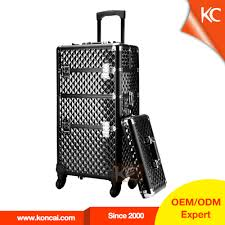 wholesale aluminum beauty trolley case online buy best aluminum