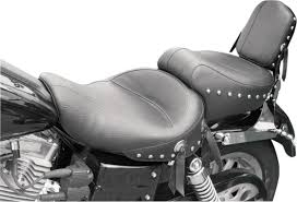 mustang touring seat mustang wide studded touring seats for harley dyna m m cycles