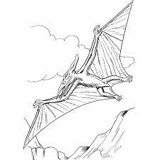 à imprimer animaux dinosaures pterodactyle numéro 220307