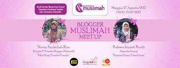 blogger muslimah blogger muslimah meet up membaca dunia menulis semesta firsty