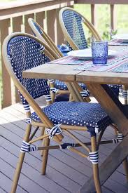 Blue Bistro Chairs World Market Boho Patio Designoff House Of Hipsters