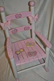 Childrens Rocking Chairs Personalized 43 Best Painted Chairs Images On Pinterest Chairs Painted