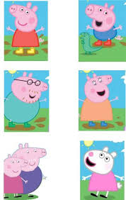 diy peppa pig george favor bags simply download print cut