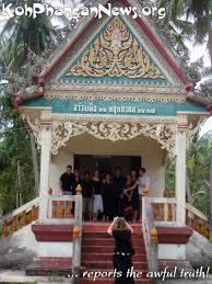 in memory of dennis tramboo koh phangan island koh phangan